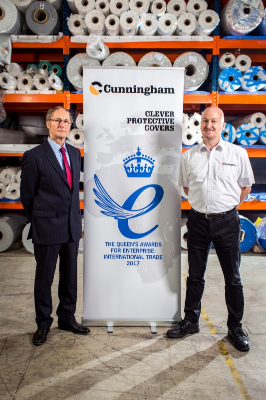 We have won the Queen's Award for Enterprise by CunninghamCovers.co.uk