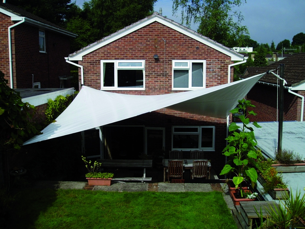 Garden Tensioned Canopy