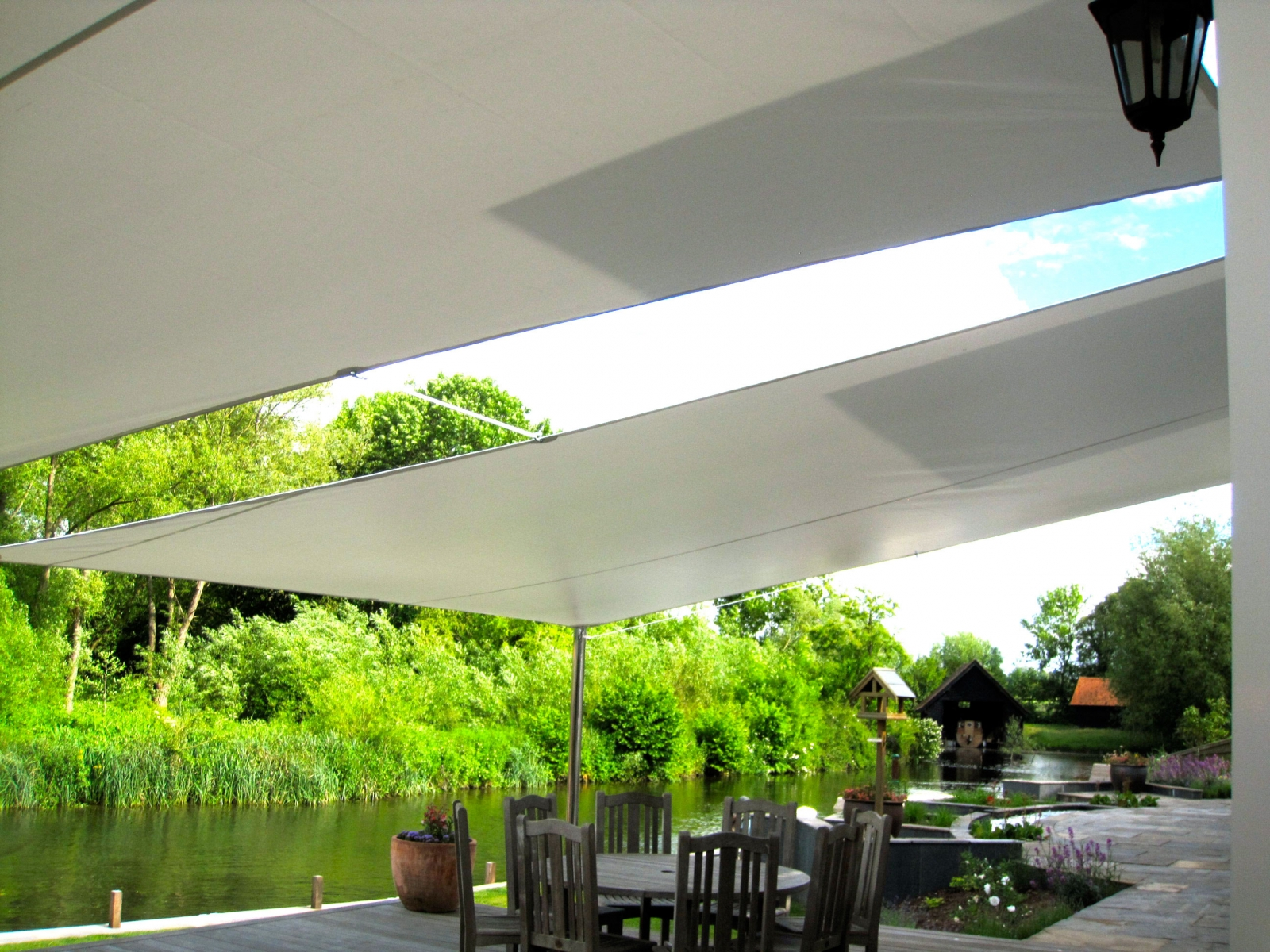 Riverbank Garden Canopy & Garden Covers Gallery - Cunningham Covers