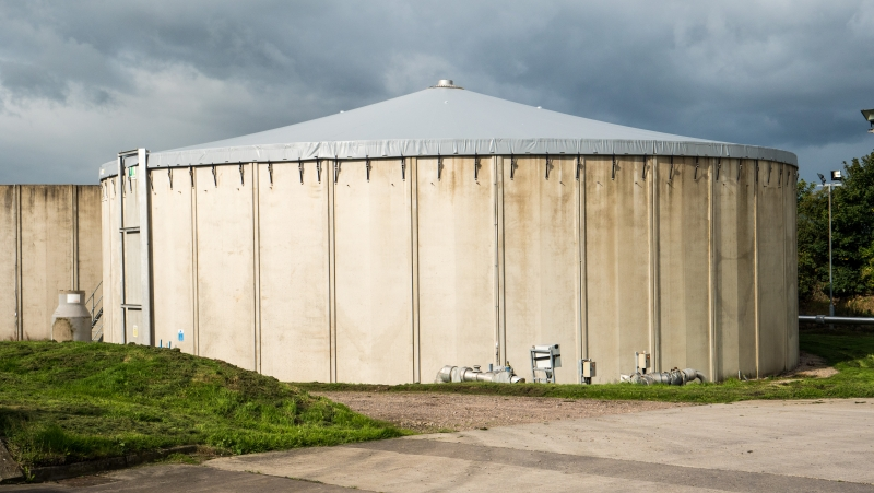 Storage Tank Cover