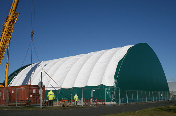 temporary building covers pvc canvas cladding cunningham covers